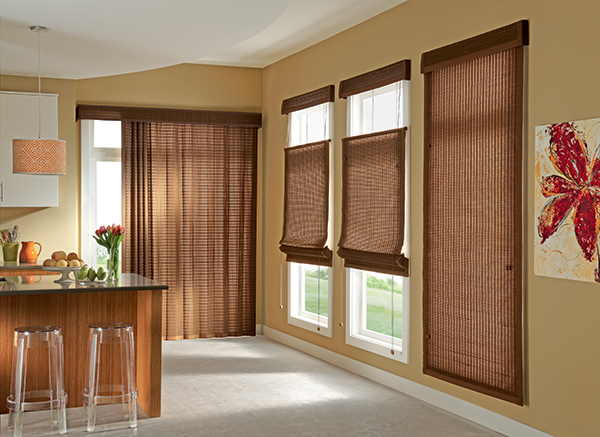 Roman Shades Dc Window Automation